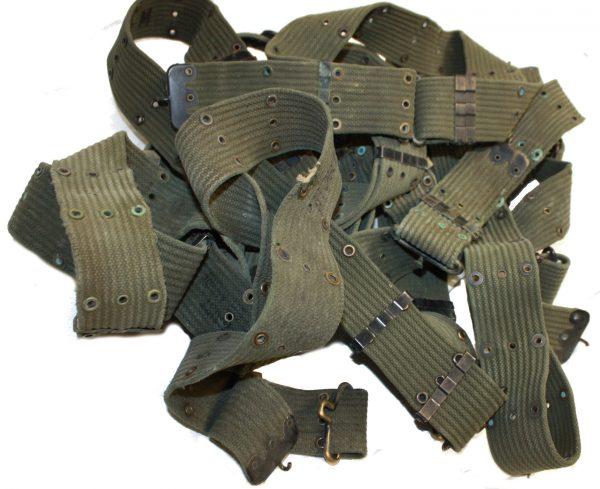 Vietnam Pistol Belt Horizontal Weave