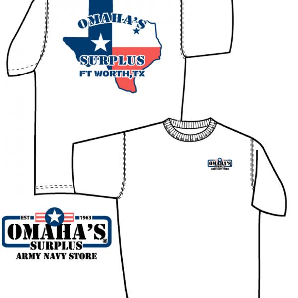 omahas texas t-shirt