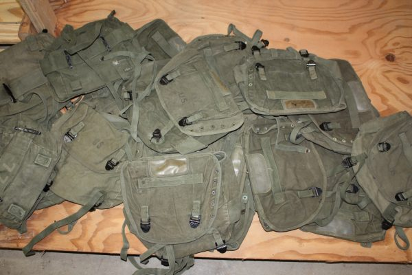 Vietnam Canvas Buttpack, Used