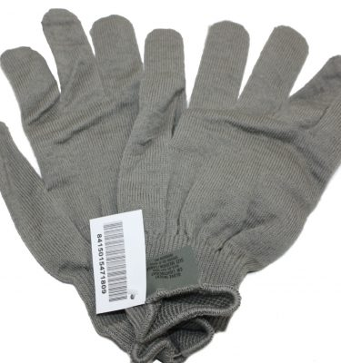 Polypropylene Glove Inserts, Gray