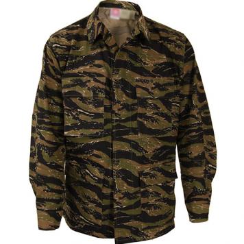 Asian Tigerstripe BDU Shirt