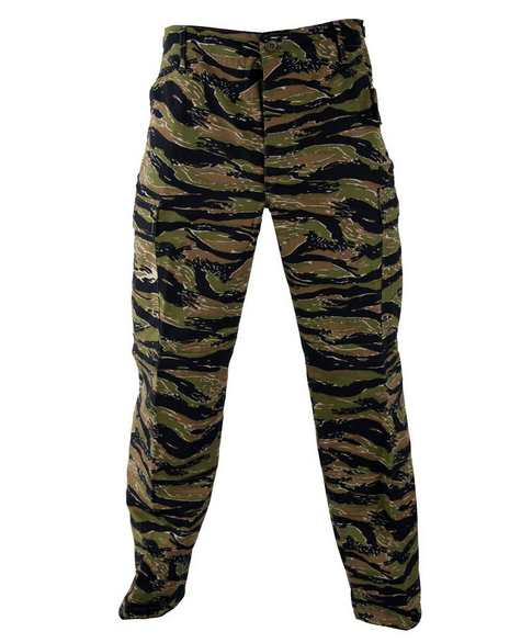 Asian Tigerstripe BDU Trousers