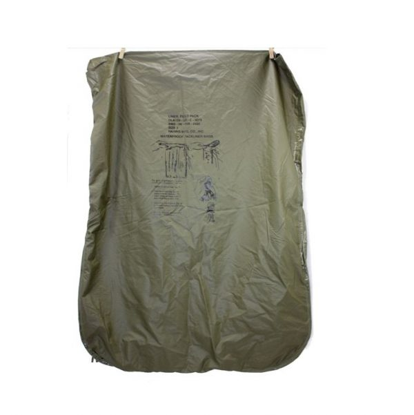 Field pack liner, waterproof military surplus