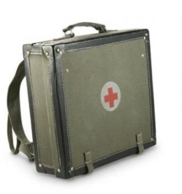 military surplus genuine Serbian Medic Case