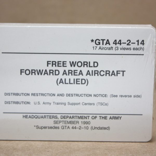 Aircraft Recognition Cards