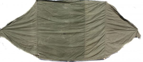 Military Shelter Half Of Pup Tent