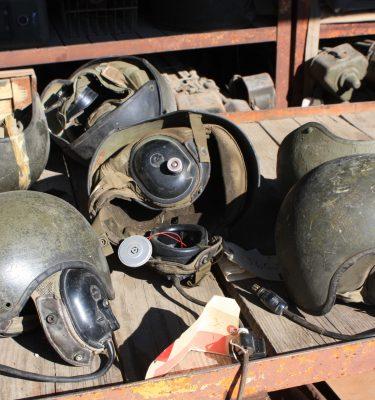 Tanker's Helmet, Cvc, Used, Rough