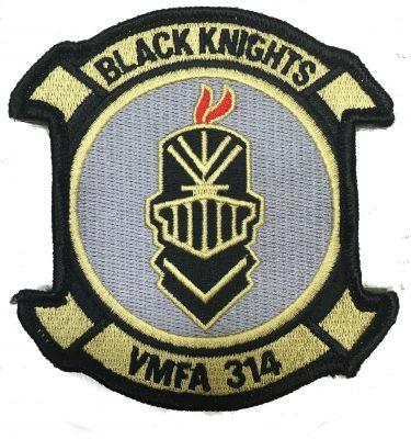 Black Knights VMFA 314 Patch