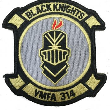 Black Knights VMFA 314 Patch