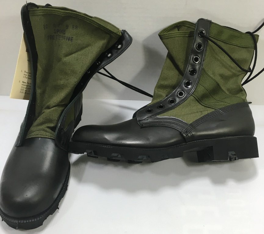 vietnam jungle boots with panama sole. Black Bedroom Furniture Sets. Home Design Ideas
