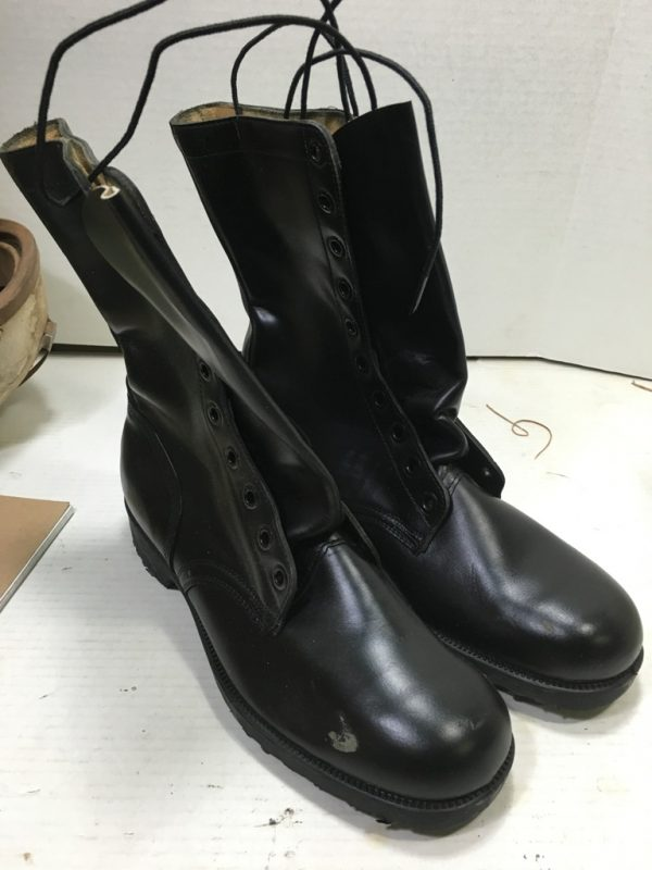 Post Vietnam Leather Combat Boots