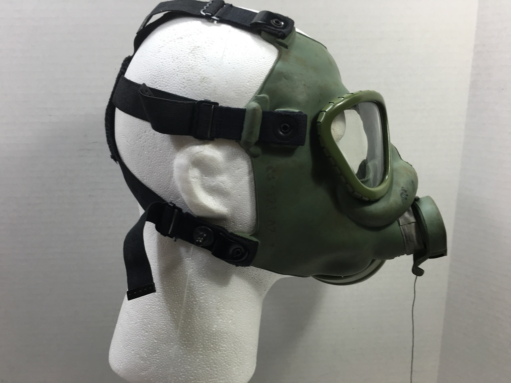 Serbian Gas Mask & Serbian Army Gas Mask Used Condition Novelty Item