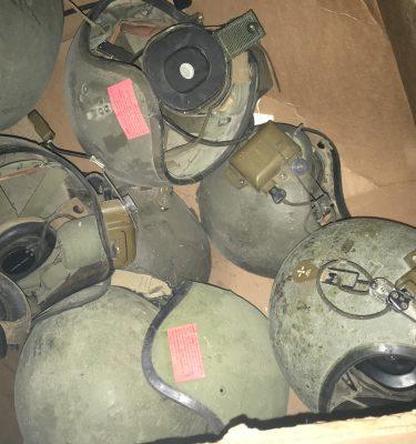 Cvc Tankers Helmet, Old Style T-56