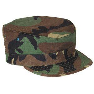 Bdu Patrol Cap, Army, Woodland Camo
