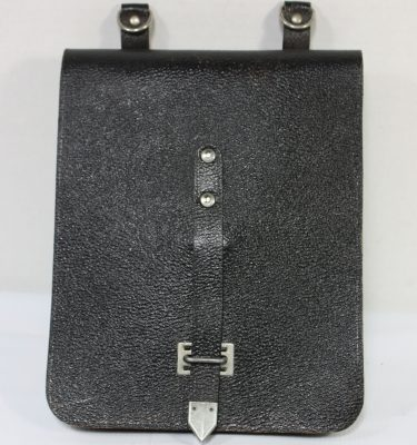 East German Document Case, Black
