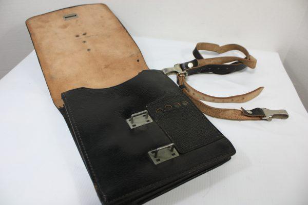 East German Document Case, Black