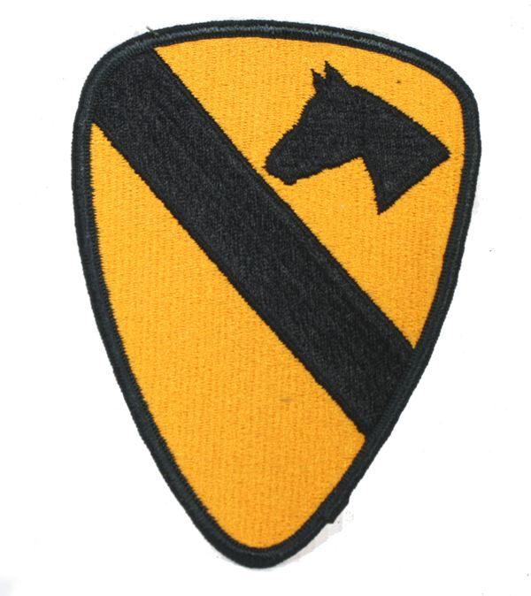1st Cavalry Patch