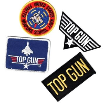military surplus army navy top gun patches