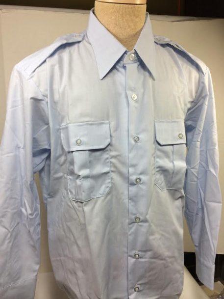 USAF Blue Dress Shirt Long Sleeve