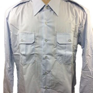 USAF Blue Dress Shirt Long Sleeve