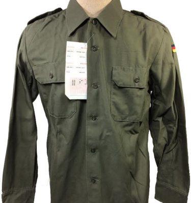 German Fatigue Shirt w/ Flag, used