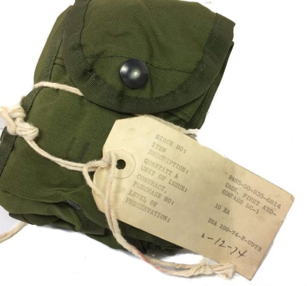 First Aid/Compass Pouch, Vietnam Nylon