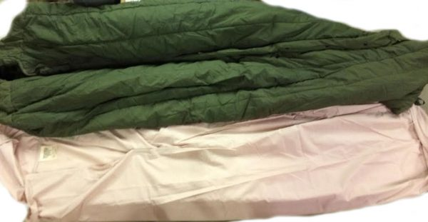 British Tan Sleeping Bag Liner-Granby
