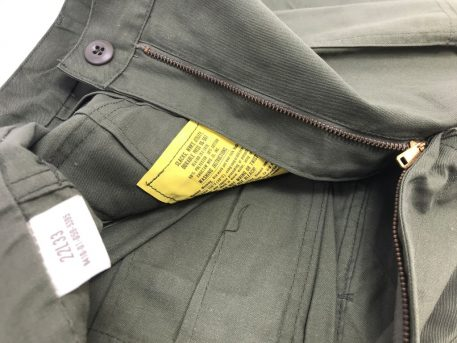 military surplus women's olive drab utility trousers
