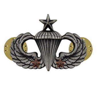 combat parachute senior 2nd award
