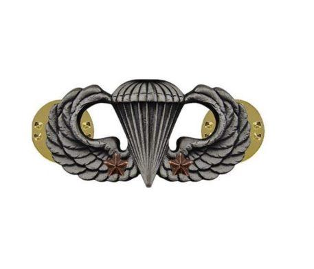 Combat Parachutist, 2nd Award