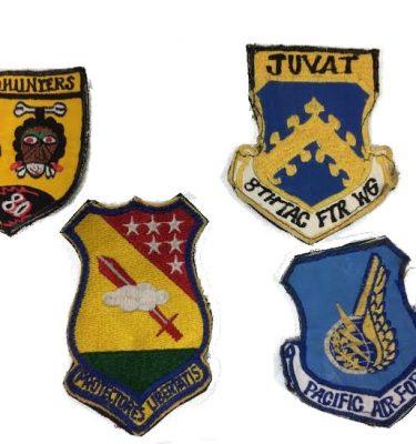 Vintage USAF Patch Lot of 4
