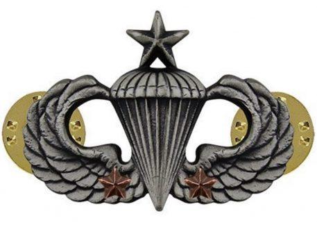 Senior Combat Parachute 2nd Award
