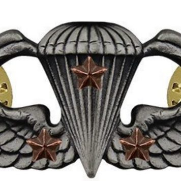 combat parachutist 3rd award
