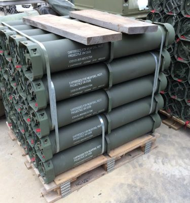 120MM Projectile Inert Cartridge Casing