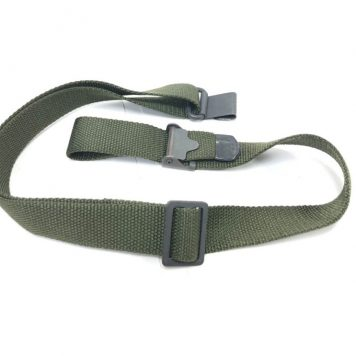olive drab m-16 parade rifle sling