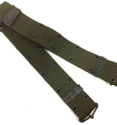 military surplus LC-1 Pistol Belt Nylon Metal, Lg dated 1976