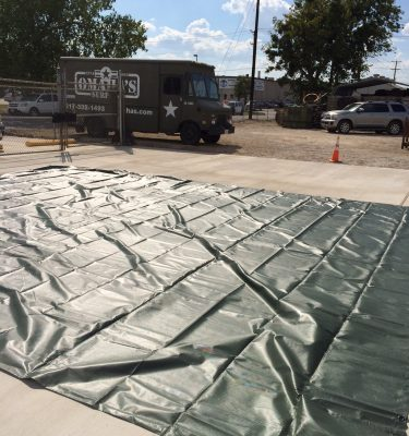 military surplus truck tarp heavy duty