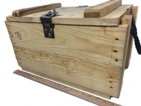 Wood Grenade Box