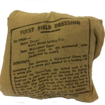 military army surplus ww2 first field dressing british m1937
