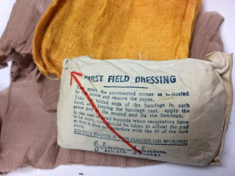WW2 First Field Dressing British M1937