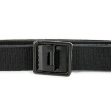 Army Black Belt, Black Buckle Open Face