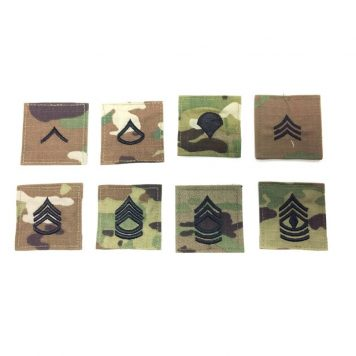military surplus army ocp enlisted rank patches