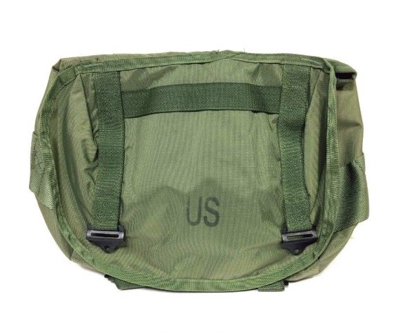 military surplus genuine us gi butt pack, nylon olive drab