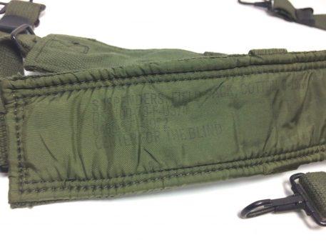 military surplus Vietnam Era M1956 Canvas/Nylon Suspenders, 73'dated NOS