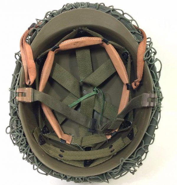 military surplus ww2 style army helmet m1 with net belgium