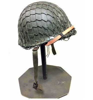 military surplus ww2 style army helmet m1 with net belgium