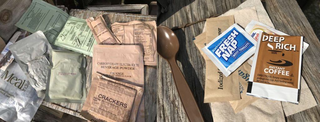military surplus mre meals ready to eat