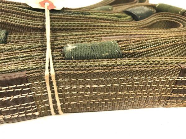 military surplus cargo sling strap 11 foot 2 loop nylon