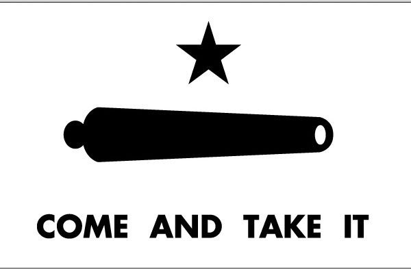 military surplus come and take it flag