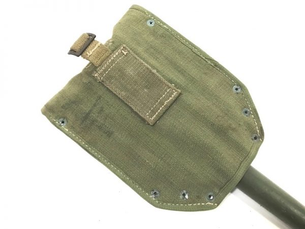 military surplus european shovel with cover